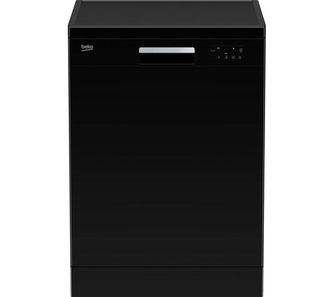 BEKO DFN15X10B Full-size Dishwasher - Black