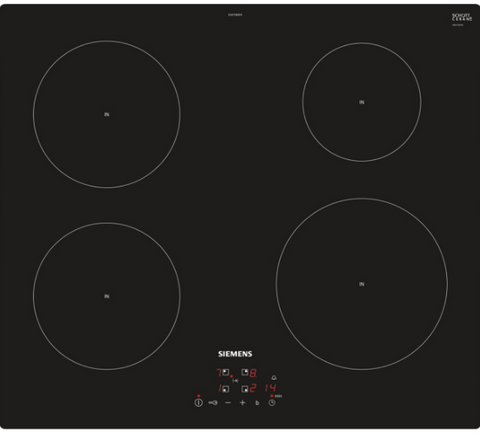 SIEMENS EU611BEB1E - 60cm Induction Hob - Black