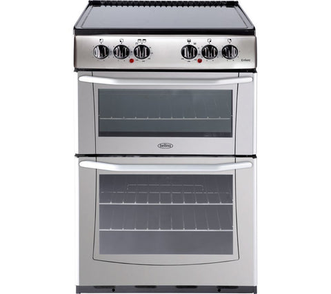 Belling Enfield E552 55cm Electric Ceramic Cooker - Silver