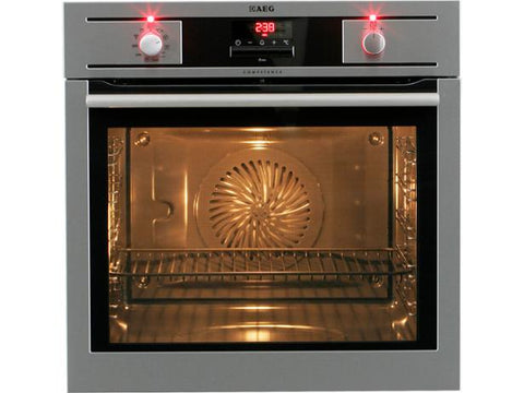 AEG BP5304001M Built In Single Electric Oven - Stainless Steel