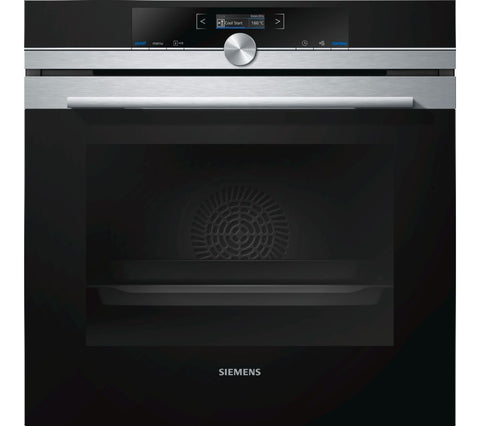 SIEMENS HB632GBS1B - 60cm Single Electric Oven - Stainless Steel