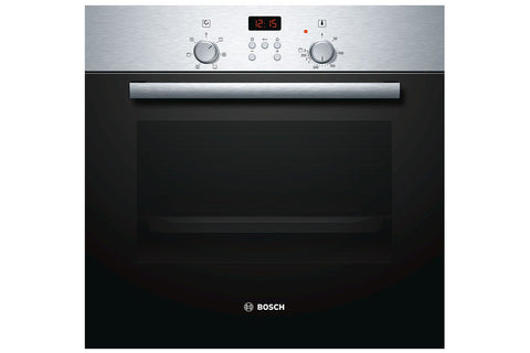 Bosch Serie 2 HBN331E6B - 60cm Electric Built-in Single Oven - Stainless Steel