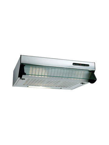 Beko HBV60X Built-In Visor Cooker Hood, Stainless Steel
