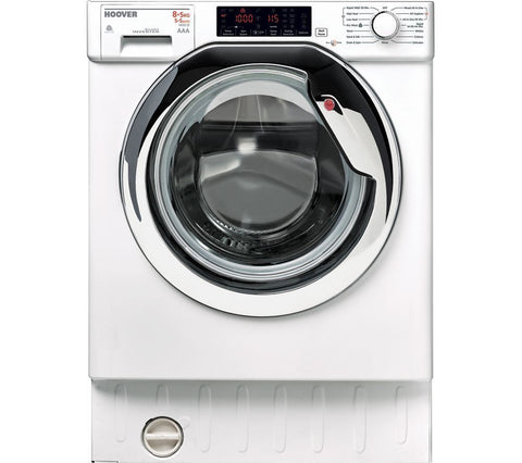 HOOVER HBWD 8514TAHC Integrated 8/5kg Washer Dryer - White