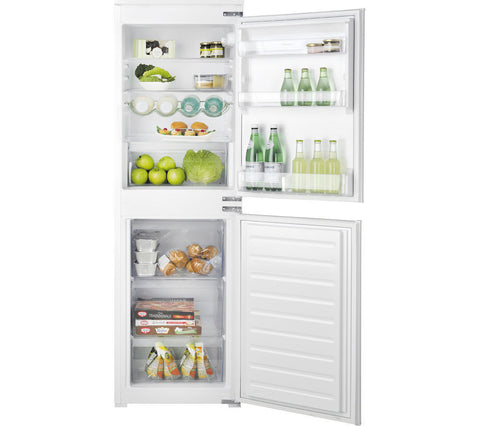 HOTPOINT HMCB 50501 AA Integrated Fridge Freezer 50/50