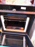 Siemens iQ700 HR678GES6B - 60cm Single Built In Electric Oven - Black