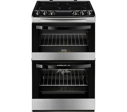 Awe Inspiring Zanussi Zcv46000Xa 55 Cm Electric Cooker Black Safeer Appliances Ltd Wiring Digital Resources Cettecompassionincorg