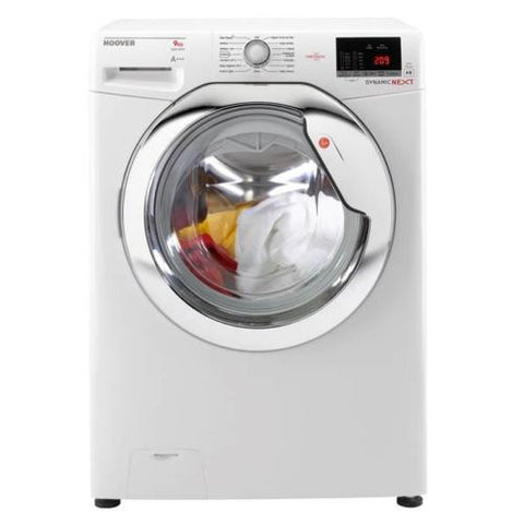 Hoover Dynamic One Touch DXOC69C3 9kg Washing Machine - White
