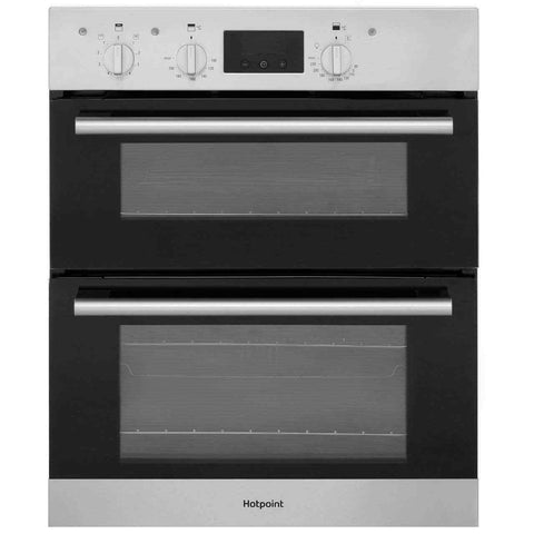 Hotpoint DU2540IX Class 2 Built Under 60cm B Electric Double Oven Stainless