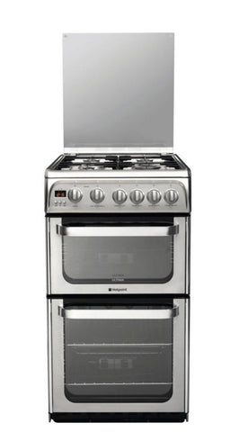 Hotpoint HUG52X Ultima Free Standing Gas Cooker Hob 50 cm LPG Convertible