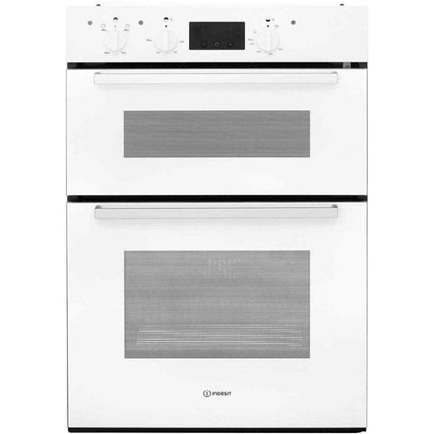 INDESIT Aria IDD 6340 WH Builtin Electric Double Oven - White