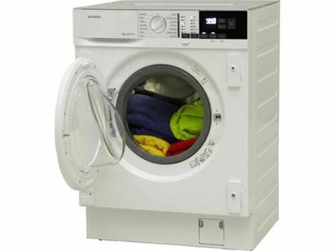 John Lewis JLBIWM1404 Integrated Washing Machine 7kg White A+++