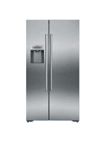 Siemens KA92DAI20G American Style Fridge Freezer, A+ Energy Rating, Stainless Steel