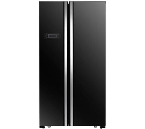 KENWOOD KSBSB17 American-Style Fridge Freezer - Black
