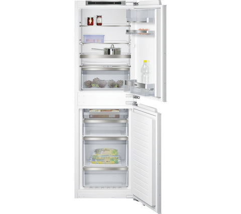 SIEMENS iQ500 KI85NAD30G - Integrated 60/40 Fridge Freezer