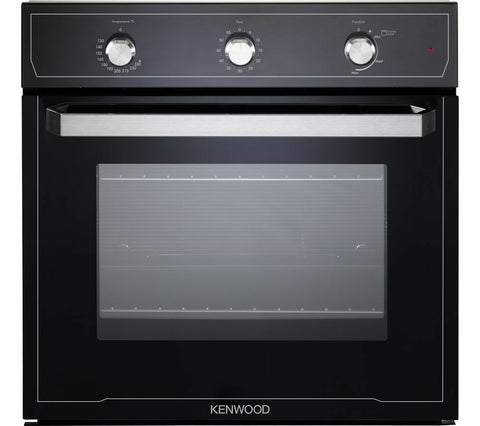 Kenwood KS101GBL 68 litres A+ Built-in Gas Oven Black Stainless Steel LPG Convertible