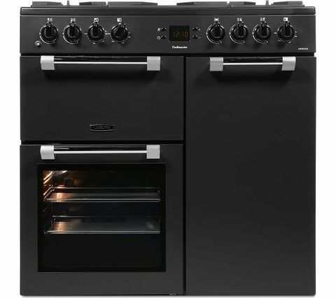 LEISURE CK90F530T 90 cm Dual Fuel Range Cooker - Anthracite LPG Convertible