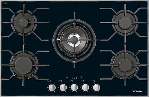 NEW MIELE KM3034 Gas hob Wok burner Electronic functions for user convenience