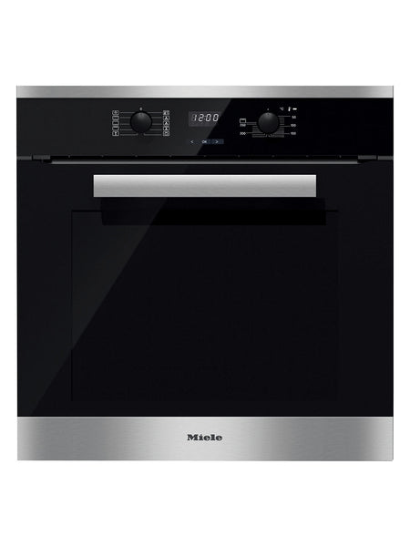 Miele H2661 1b Built In Multifunction Single Oven Brushed