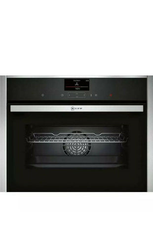 NEFF C27CS22H0B N90 Built In 60cm A+ Electric Single Oven Stainless Steel