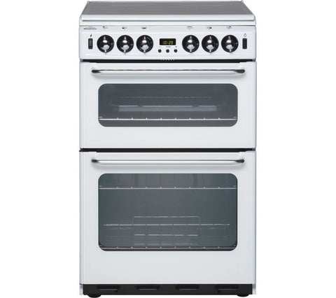 NEW WORLD 550TSIDOM 55cm Gas Cooker - White - 444440031
