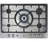 NEW WORLD NWGHU701 70cm Gas Hob - Stainless Steel