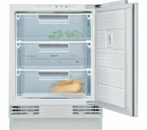 Neff G4344X7GB Static Built Under Freezer White