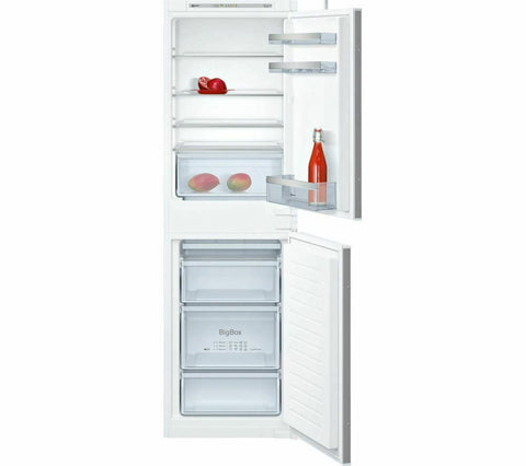 Neff KI5852S30G Built-in Fridge Freezer, 54.1 cm, 259 litre, White