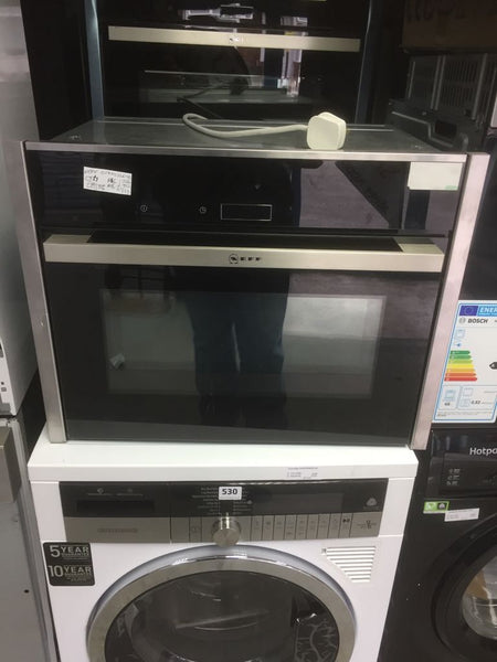 Neff C17ms32n0b Built In Combination Microwave Oven