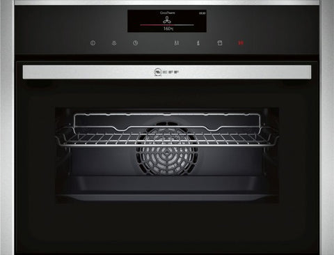 Neff C18FT34N0B Built-in Steam Oven Stainless Steel