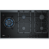 Neff T29TA79N0 90cm Gas on Glass Hob - Black