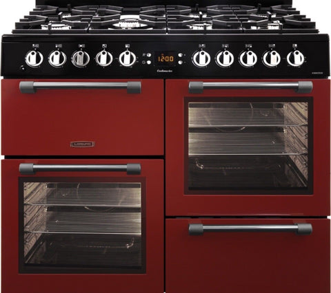 Leisure Cookmaster CK100F232R 100cm Dual Fuel Range Cooker RED LPG Convertible