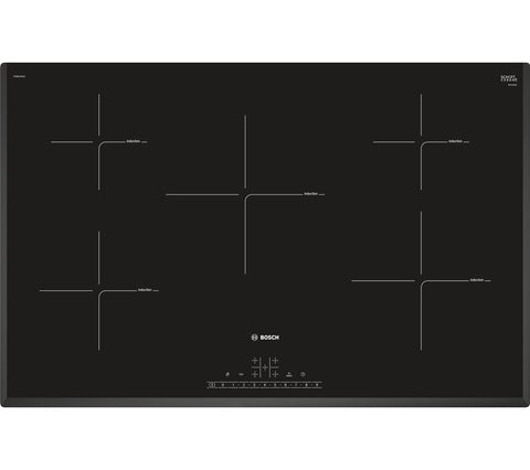 BOSCH PIV851FB1E 80cm Electric Induction Hob - Black