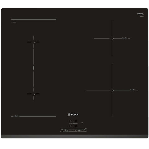 Bosch Serie | 4 PWP631BF1B - 60cm Induction Hob - Black