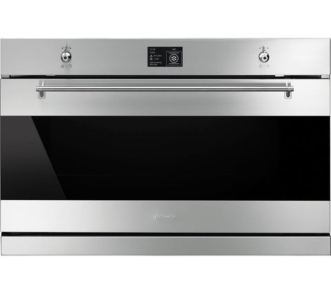 SMEG SFP9395X Electric Built-in single Oven Stainless Steel 90cm