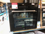 CDA SK511SS -60cm Pyrolytic Single Oven – Black & Stainless Steel