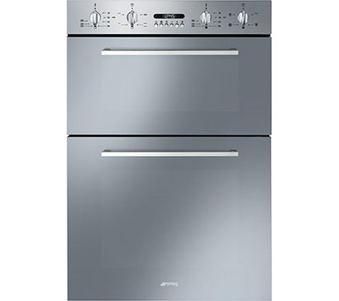 SMEG Cucina DOSF44X Electric Double Oven - Stainless Steel