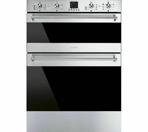 SMEG DUSF636X Electric Built under Double Oven - Stainless Steel