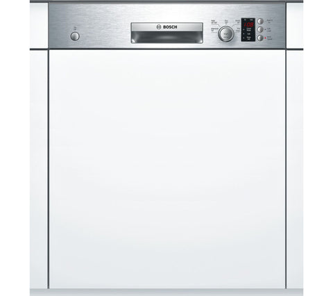 BOSCH Serie 4 SMI50C15GB Semi-Integrated Dishwasher - Stainless Steel
