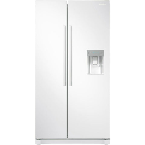 Samsung RS52N3313WW No Frost Side-by-side Fridge Freezer With Non-pl