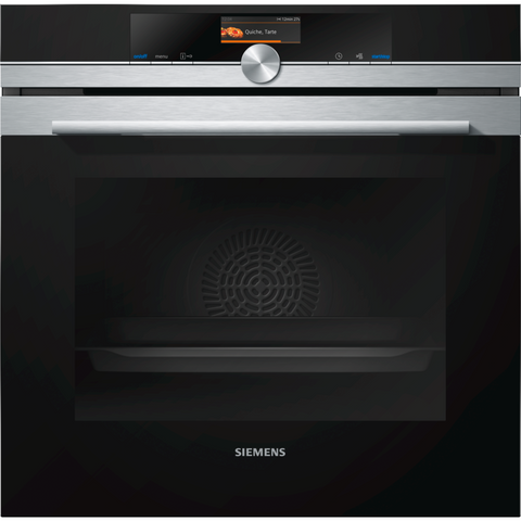 Siemens HB656GBS6B iQ700 Touch Control Multifunction Electric Built Oven