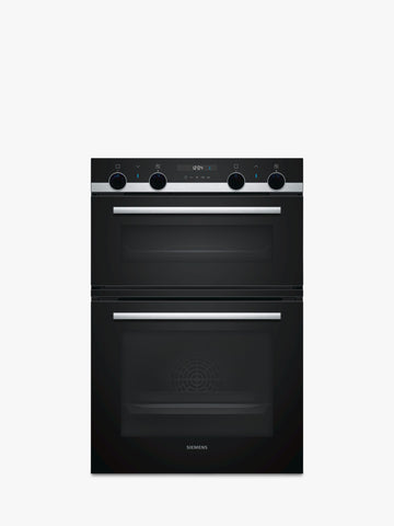 Siemens IQ-500 MB557G5S0B Built In Double Oven - Stainless Steel