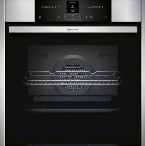 Neff Premium Collection 3 B25CR22N1B Single Oven - Stainless Steel