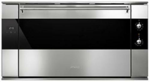 Smeg SF9315XR 90cm Reduced Height Classic Multifunction Oven