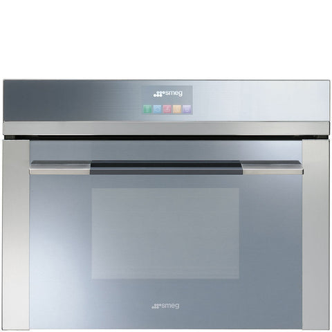 Smeg SF4140VC Built In Steam Oven - Stainless Steel