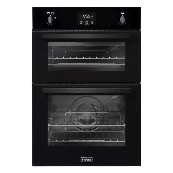 Fuel Induction Service >> Stoves BI900G Built In 60cm Wide Gas Double Oven Black ...