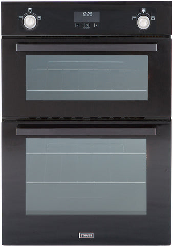 STOVES Professional SGB900MFSe Gas Double Oven - 444440933 - Black