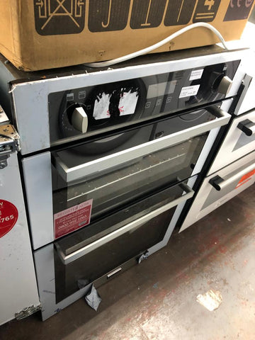 Stoves STBI900G Built-In Double Gas Oven, Stainless Steel