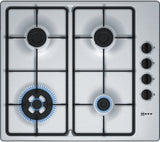 NEFF T26BR56N0 60cm Gas Hob - Stainless Steel
