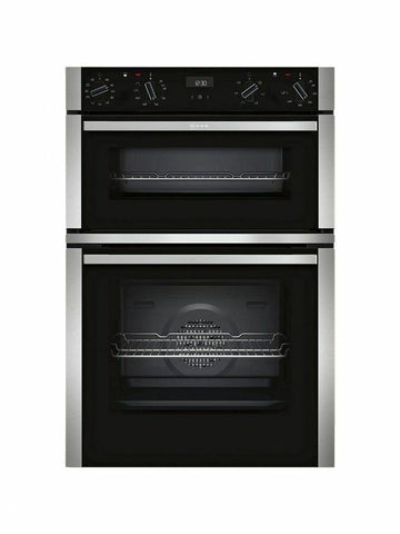 NEFF U1ACE5HN0B - 90cm Electric Double Oven - Stainless Steel